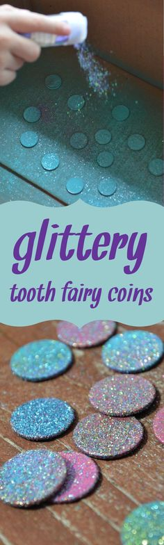 Easily make your own magical tooth fairy coins!
