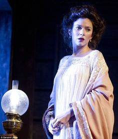 Anna Friel plays Yelena Uncle Vanya at the Vaudeville Theatre