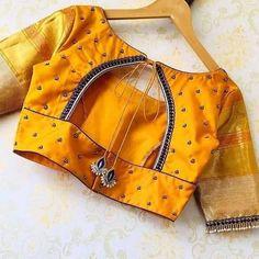 Blouse Designs Catalogue, Designer Blouse Patterns, Fancy Blouse Designs, Blouse Neck Designs, Hand Work Blouse Design, Stylish Blouse Design, Simple Kurta Designs, Sari Blouse, Ganesha