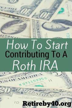 I love my Roth IRA. If you don't have one, you're missing out. See how to start contributing to a Roth IRA.