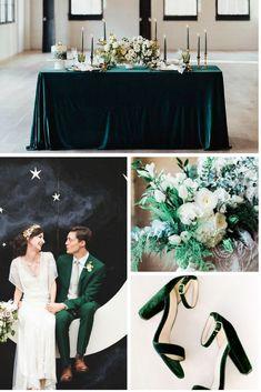 Wedding Theme Ideas Glamorous Garden Wedding Inspo with Emerald, Gold and Blush Mood Board Wedding Themes, Wedding Decorations, Wedding Dresses, Wedding Ideas, Emerald Green Weddings, Emerald Wedding Theme, Gold Wedding Colors, Wedding Gold, Rustic Wedding