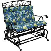 Found it at Wayfair - Outdoor Double Glider Chair Cushion