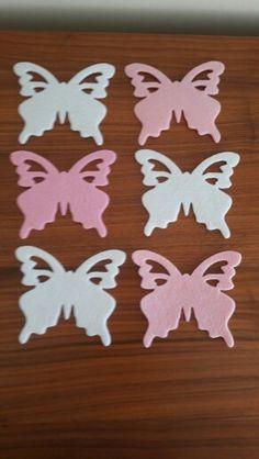 Pembe & Beyaz kelebekler....