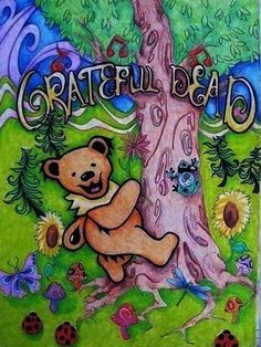 ☮ American Hippie Classic Rock Music ~ Grateful Dead
