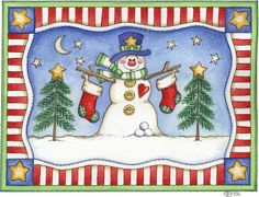 Laurie Furnell - Snowmans