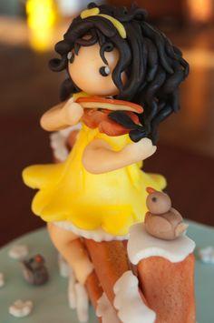 serenella morichetti - little violinist cake