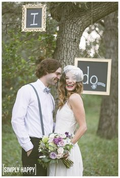 Chalkboark Wedding Signs I Do Styled Wedding Photography Vintage Inspired Wedding Rustic Outdoor