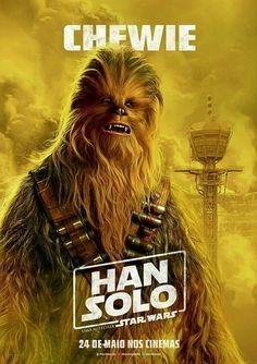 Han Solo: Uma História Star Wars | Confira os novos pôsteres com Chewie #HanSolo #StarWars 24 de maio nos cinemas.