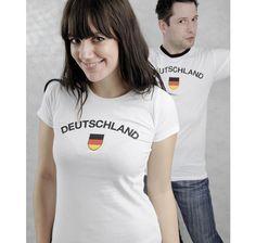 Deutschland Girlie Shirt