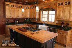 a frame cabin kitchen design | LOG HOME KITCHEN PHOTOS « KITCHEN DESIGNS