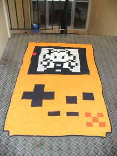 Game Boy Color Quilt