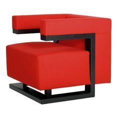 Sillón de diseño de Walter Gropius