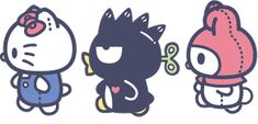 Sanrio Sanrio Characters, Disney Characters, Fictional Characters, Hello Kitty My Melody, Puff Girl, Cat Stickers, Cute Pokemon, Cinema, Minnie Mouse