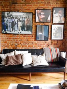 House Tour: A Bold Grayscale Brooklyn Rental Apartment | Apartment Therapy
