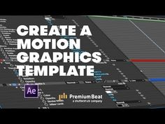 motion graphic In this video tutorial, learn how you can harness the power of motion graphics by creating your own templates in Adobe After Effects. Adobe After Effects Tutorials, Effects Photoshop, Video Effects, Adobe Photoshop, Motion Design, Motion Graphs, After Effect Tutorial, Lightroom Tutorial, Graphic Design Templates