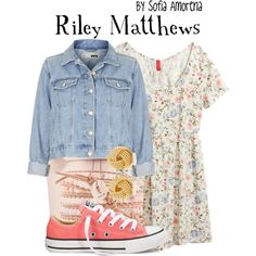 riley matthews clothes for summer day:)