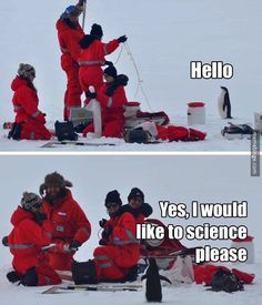 Friendly penguin just wants to science. http://mbinge.co/VNQyRX