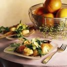 Try the Spring Lettuces with Grapefruit and Sautéed Scallops Recipe on williams-sonoma.com/