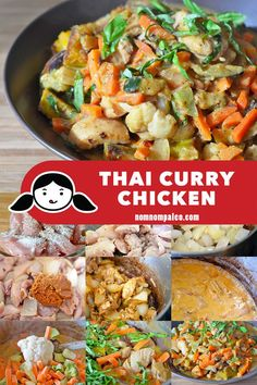 Thai Curry Chicken - Nom Nom Paleo® - - Thai Curry Chicken – Nom Nom Paleo® Nom Nom Paleo: recipes My paleo Thai Curry Chicken recipe is quicker, healthier, and tastier than ordering takeout from your neighborhood Thai restaurant. Paleo Chicken Recipes, Paleo Recipes, Asian Recipes, Ethnic Recipes, Paleo Meals, Paleo Food, Fast Recipes, Keto Chicken, Turkey Recipes