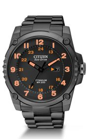 Citizen Eco-Drive Super Titanium BJ80075-58F US $525.00