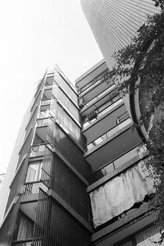 Girasol Apartments / José Antonio Coderch / 1966 / Madrid, Spain