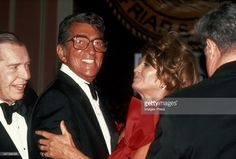 Dean Martin and Angie Dickinson circa 1984 in New York City.