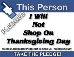 Blog Recap Up This Morning~ Hot off the Presses Straight to You!  To shop or not to shop......THAT is the question : Thanksgiving Retail Revolution: Part 1 - http://go.shr.lc/1EJC4SU  #blackfriday #corporategreed #retail #employment #shopsmall #thanksgiving #shopping #doorbusters #deals