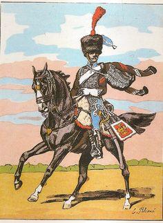 French; 2nd Hussars, Elite Company, Brigadier, 1810-12