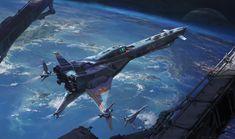 Image Science fiction spaceship in mario's images album Spaceship Art, Spaceship Concept, Spaceship Design, Concept Ships, Concept Art, Science Fiction Kunst, Science Art, Cyberpunk, Space Opera