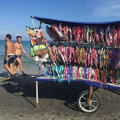 Bikinis vendor @ Salento, Italy #streetvendors #mystreetvendors