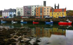 Scotland - Fishing Harbour - St Andrews by stuart__matthews, via Flickr