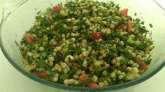 Buğday Salatası                        -  Mine Akgün #yemekmutfak