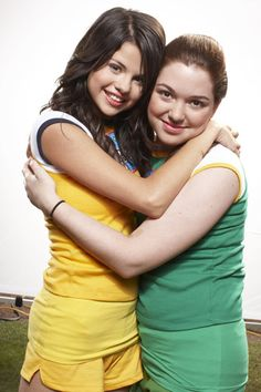Jennifer with Selena Gomez! :) Miss these two!!! :)