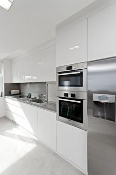 16 best high gloss white kitchen images kitchen dining kitchen rh pinterest com