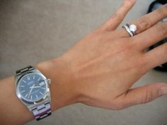 Do any of you ladies wear men's or mid-size Rolex? - PurseForum