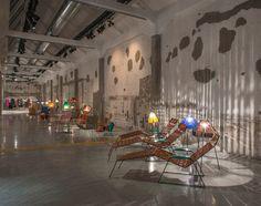 Instalación del Ballhaus de Marni en Milán. Foto: ©Marni.