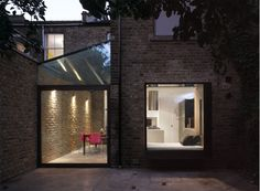 Modern Home Renovations - contemporary glass roof frames unobstructed views of the sky