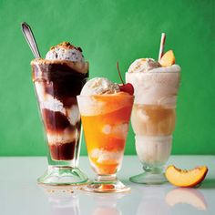 "Italy's famous pick-me-up dessert (it literally translates to ""drowned"" ice cream) scores the fizzy treatment with a generous pour-over of sparkling cold brew coffee.Get the Recipe: Affogato … Liquor Bar, Vodka Drinks, Cocktails, Homemade Liquor, Affogato, Fruit Jam, Cream Soda, Vanilla Ice Cream, Ice Cream Recipes"