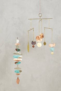 The Seriously Stylish Art Piece You Didn't Know Your Home Needed Baby Mobile, Mobile Art, Mobiles, Copper Wall Art, Shape Collage, Room Wall Decor, Do It Yourself Home, Metal Crafts, Hanging Art