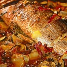 Home decor - Search Fish Recipes, Seafood Recipes, Vegetarian Recipes, Indian Food Recipes, Cooking Recipes, Fish Dishes, Seafood Dishes, Fish And Seafood, I Love Food