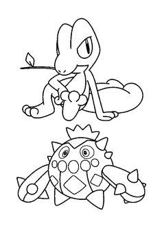 Pokemon Advanced Coloring Pages Sheets Art Pour Les Enfants