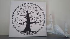 """arbre à empreintes """" arbre de vie"""" pour environ 50 personnes : Décorations murales par stefebricole Decoration, Etsy, Home Decor, Tree Of Life, Wall Art, Handmade Gifts, Decor, Decoration Home, Room Decor"""
