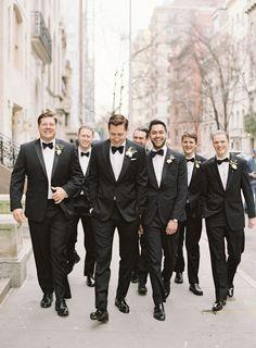 Harold Pratt House Wedding With Classic Vintage Details Wedding Men, Wedding Pics, Wedding Attire, Wedding Bells, Dream Wedding, Gothic Wedding, Wedding Dresses, Bridesmaid Dresses, Groom And Groomsmen