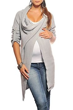 New Maternity Cardigan Pregnancy Coat Wear 9001 Variety of Colours (One Size (6-12), Light Gray)