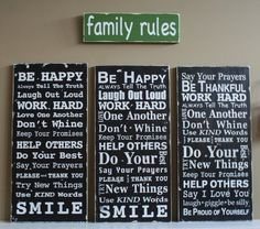Design Your Own  Typography Word Art Sign - Family Rules, Lake Rules, Porch Rules, Favorite Quote