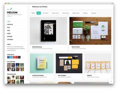 helium creative WordPress theme