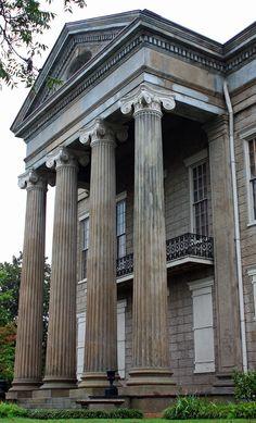 Columns, architecture, buildings