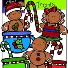 This 18-image set is cute, tasty and full of happy gingerbread men and girls! Included in this set are 12 vibrant, colored images and 6 black and w...