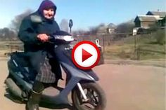 78-year-old grandma on a scooter  #videos, #videobox, #pinsland, #seniors, #biking, #moto, https://apps.facebook.com/yangutu