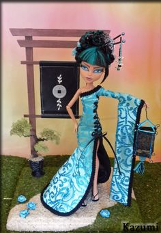 Kazumi Stunning Custom OOAK Japanese Monster High Cleo de Nile by Kris'Kreations | eBay